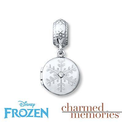 Charmed Memories Olaf Locket Charm Sterling Silver TJK8K1LdcY