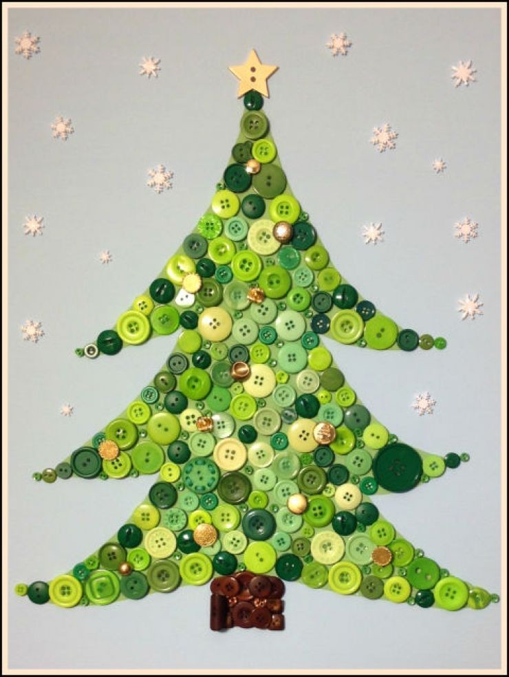 This Diy On Christmas Tree Is A Perfect Craft Idea To Keep Your Toddlers Busy During The Festive Season Let Feel Proud While They Make Their Own