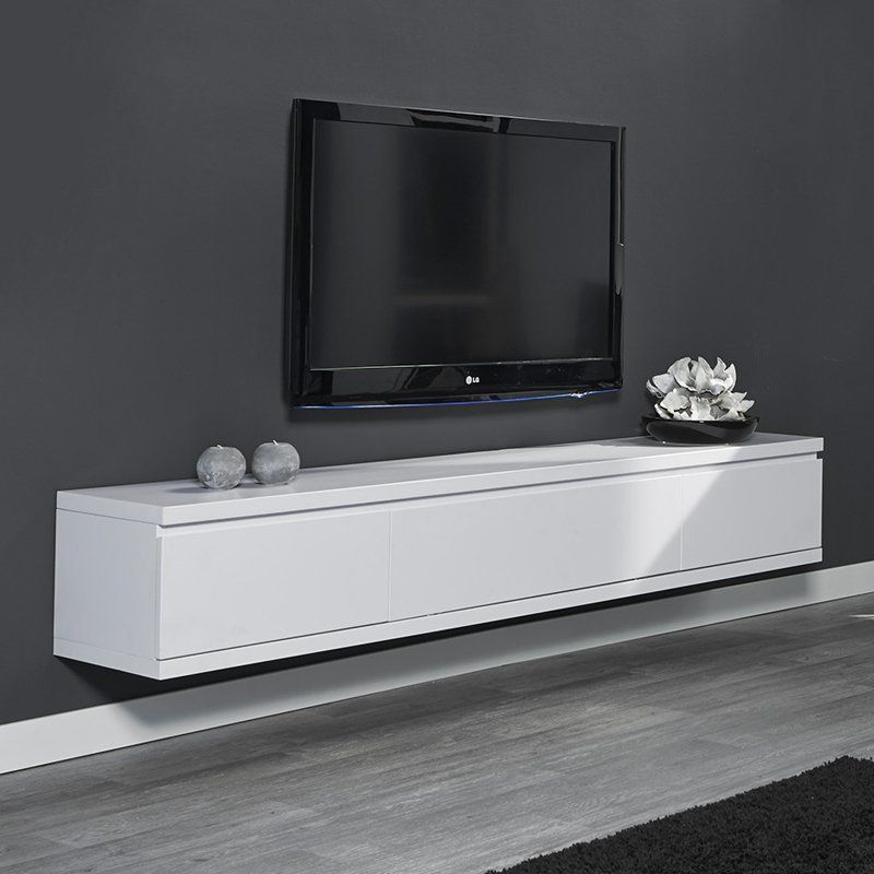 Tv Meubel Hangend.Tv Meubel Hangend Wit Giani Laret 200 M Living Room Carpet Wall