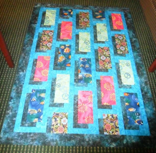Floating Blocks Quilt Shadow Quilts Patchwork Colchas