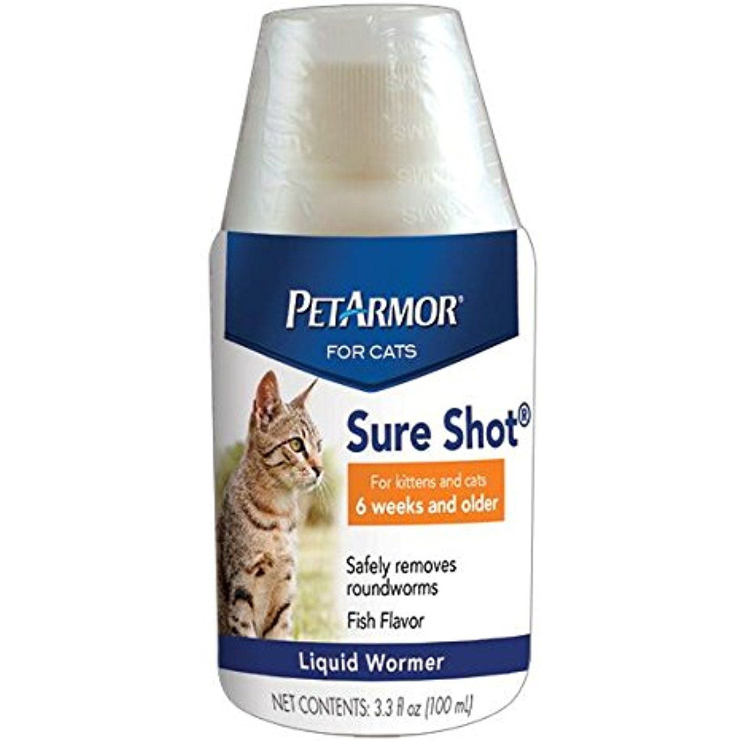 Petarmor Sure Shot Liquid Wormer For Cats 100ml Find Out More