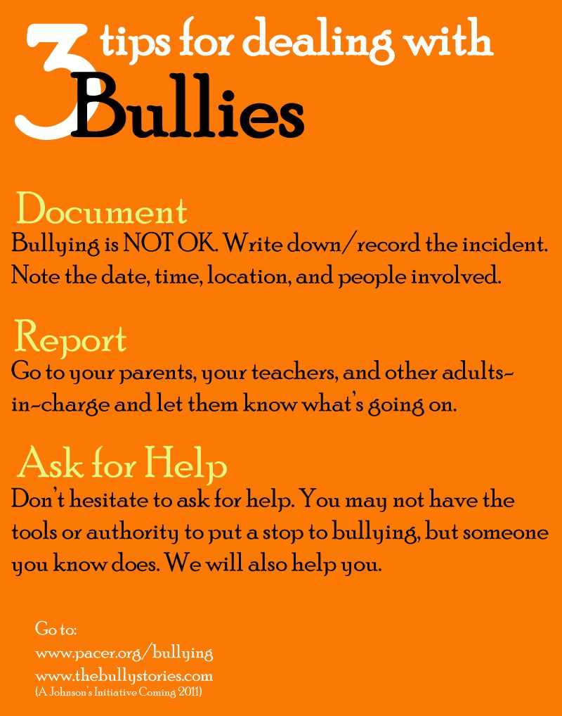 My thoughts and feelings on bullying,