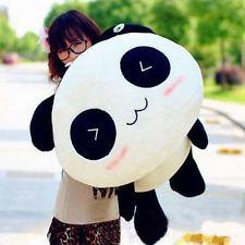 Kawaii Plush Doll Toy Animal Giant Panda Pillow Stuffed Bolster Gift 70CM 28