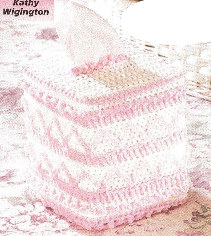 Crocheted toliet paper pattern, crocheted bath patterns - Free ...
