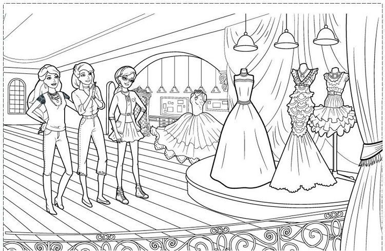 Barbie Coloring Pages Fashion Fairytale In 2020 Barbie Coloring Pages Barbie Coloring Coloring Pages