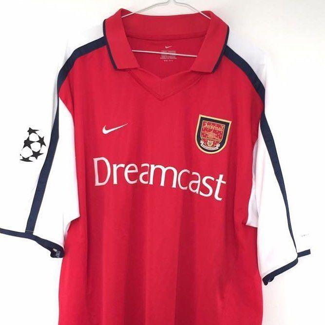eab1e4f3e 2000-01 Arsenal football shirt XL (Champions League) - 48 (down from 60)  Link in bio  arsenal  uta  blackfriday  footballshirtcollective