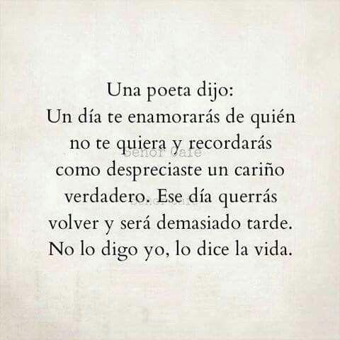 Un poeta dijo....