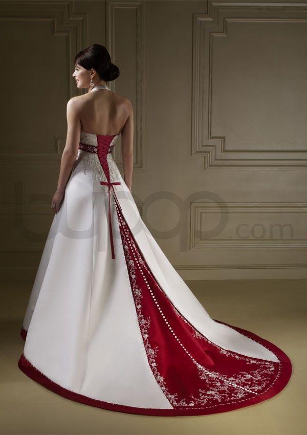 Two Tone Wedding Dress