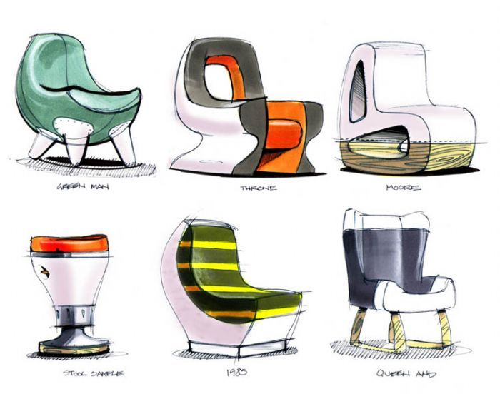 furniture by Michael DiTullo at Coroflot.com, sketching inspiration ...