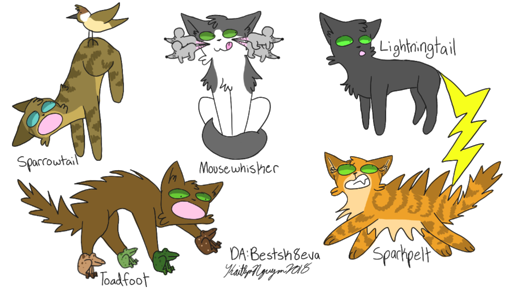 Warriors Cats Names Taken Literally 8 By Bestsk8eva With Images Warrior Cats Comics Warrior Cat Names Warrior Cats Funny