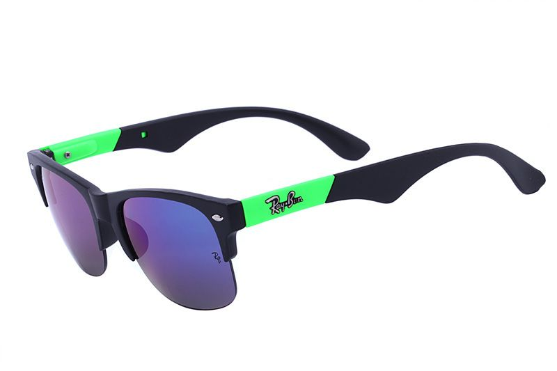 54597d62d04 Ray Ban Clubmaster Color Mix RB4175 Green Sunglasses