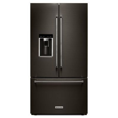 From Kitchenaid Introducing The Largest Capacity Counter Depth Refrigerator In It Counter Depth French Door Refrigerator French Door Refrigerator Kitchen Aid