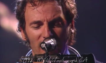 Watch Bruce Springsteen Sing 'Thunder Road' Over 41 Years