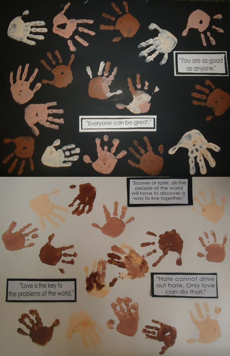 5 Hanks How The Preschoolers Honor Dr Martin Luther King Jr