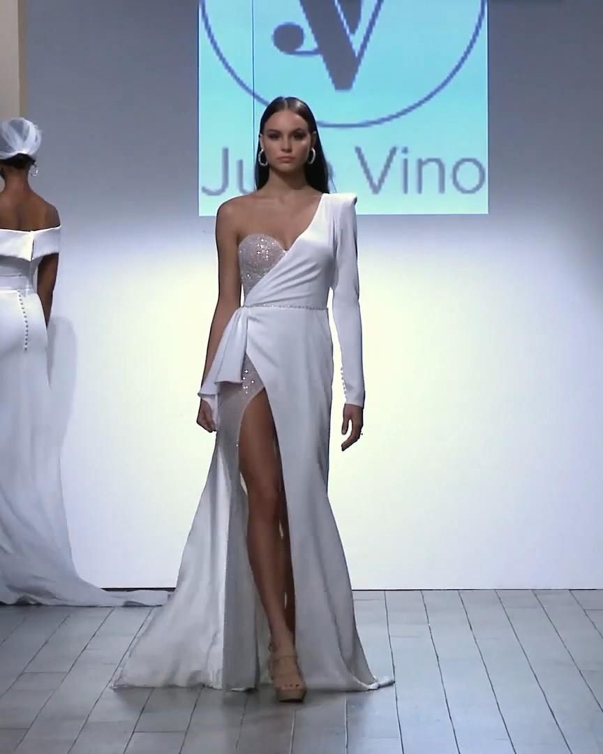 Julie Vino Look 15. Bridal Couture Collection