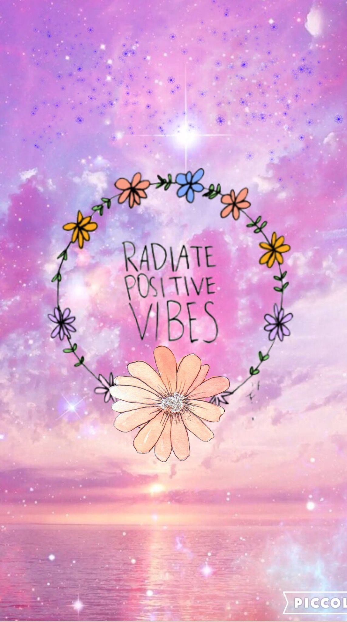 Good Vibes Quotes Wallpaper Good Vibes Pink Iphone Wallpapers Create By Me En 2019