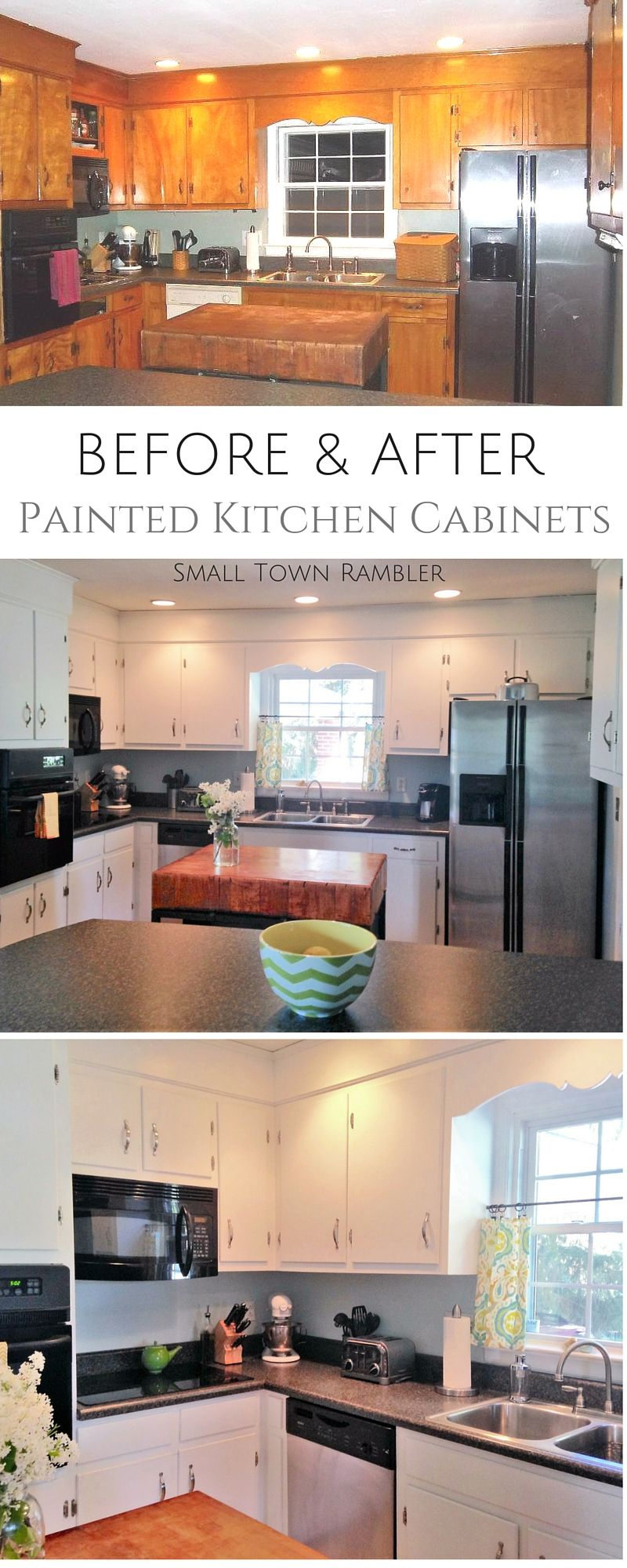 Kitchen Cabinet Facelift   Cocinas