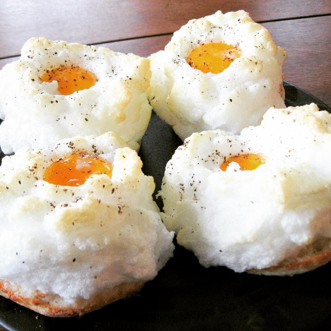 Cloud Eggs  Are The Beautiful Breakfast Trend Taking Over Instagram ... e337ebdb3f9
