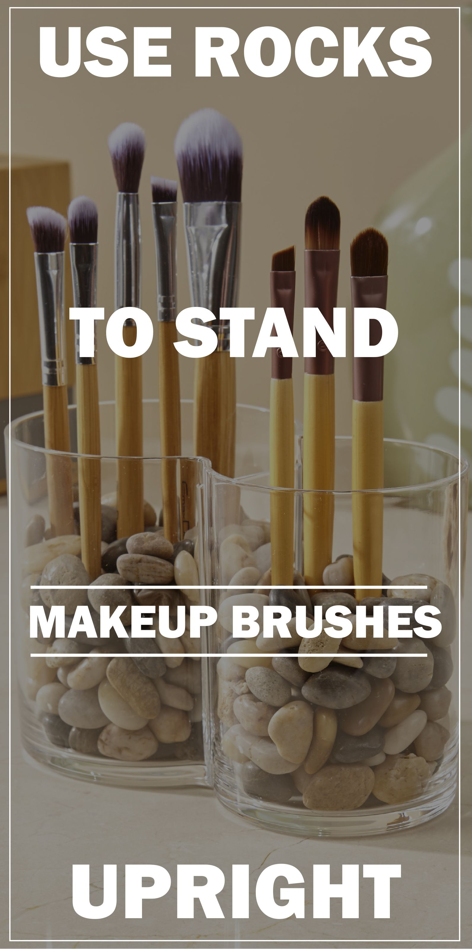 Clear Plastic Duo Makeup Brush Holder (With images