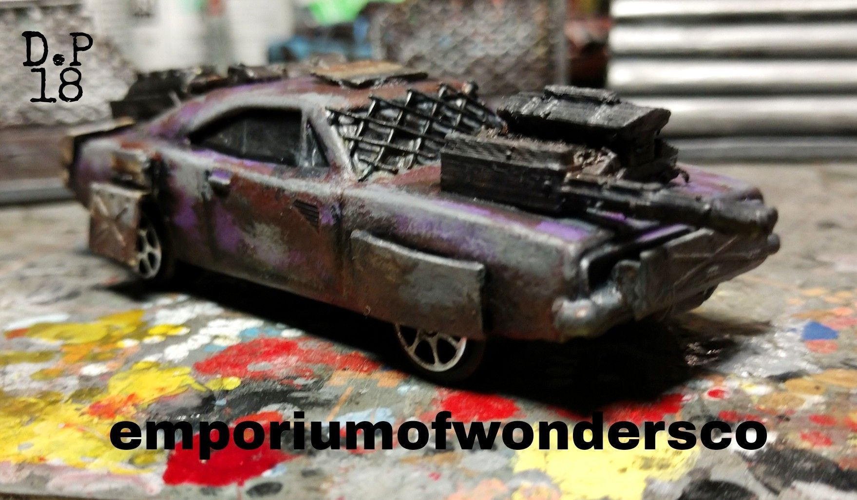 1/64 scale post apocalyptic battle car  Great for games like