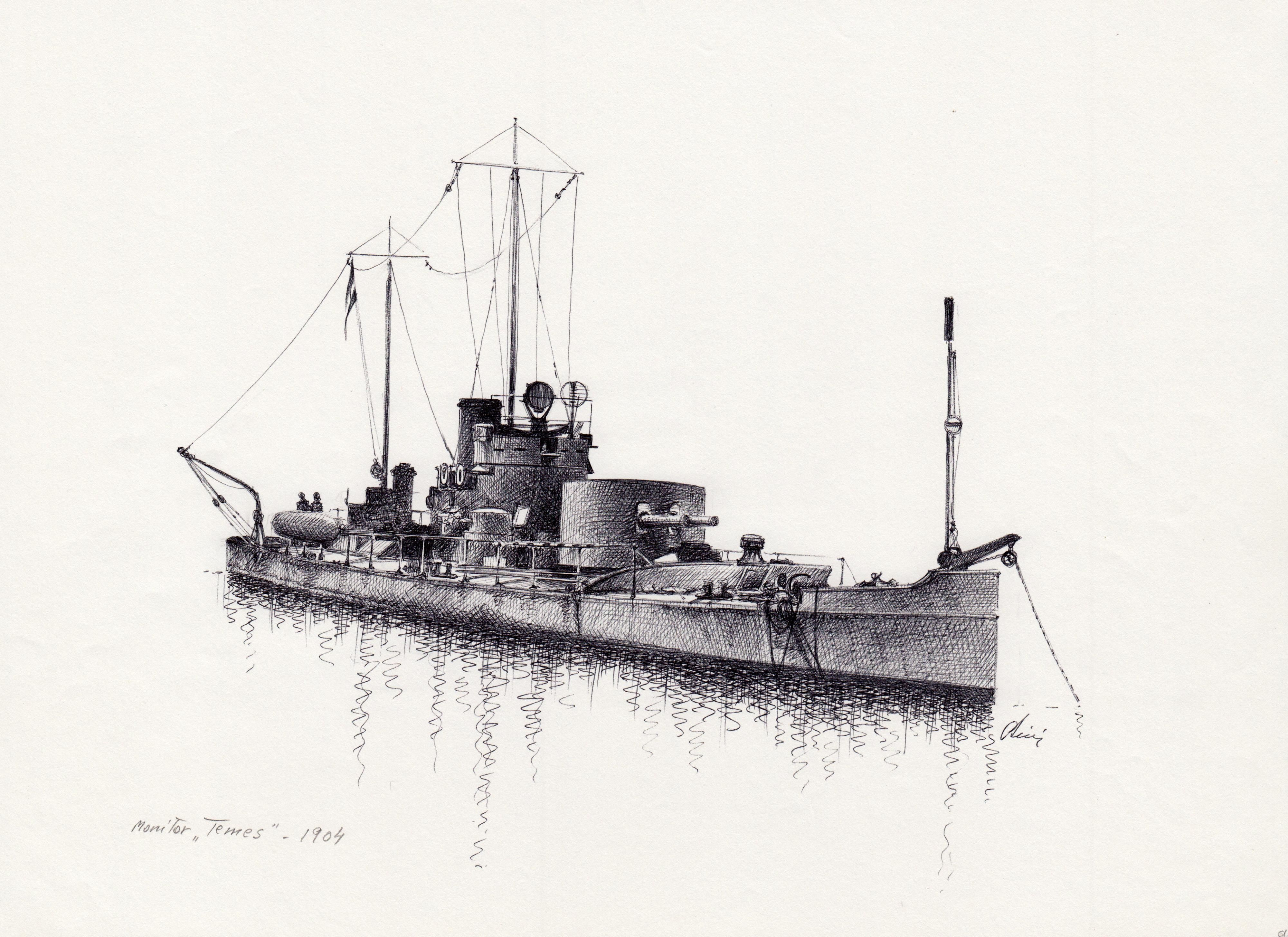 Monitor Temes 1904 | Warships ...