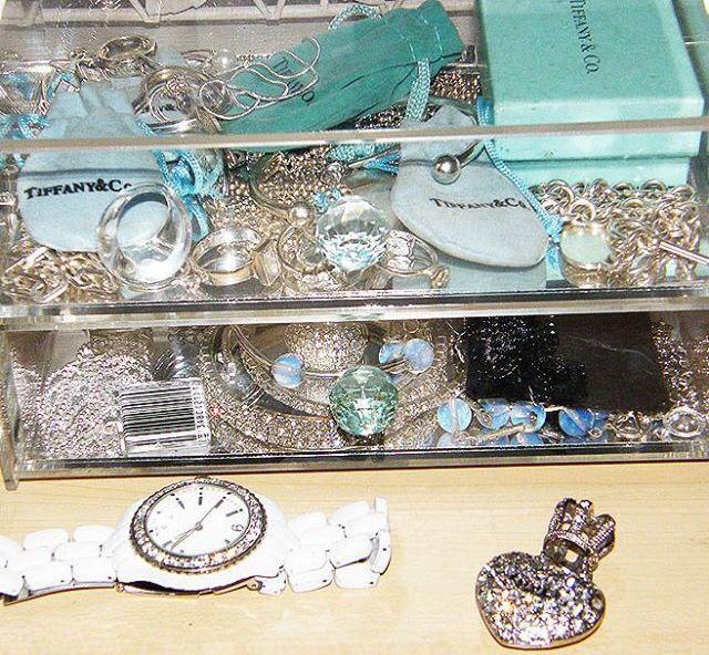 Tiffany jewellery box