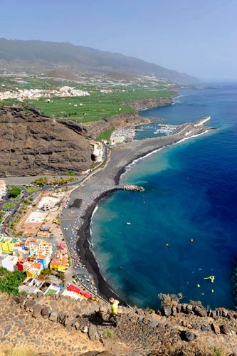 Playa De Tazacorte Tenerife Canarias Islas Canarias Tenerife