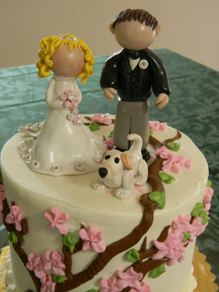 wedding toppers fimo sculpey polymer clay by rosie