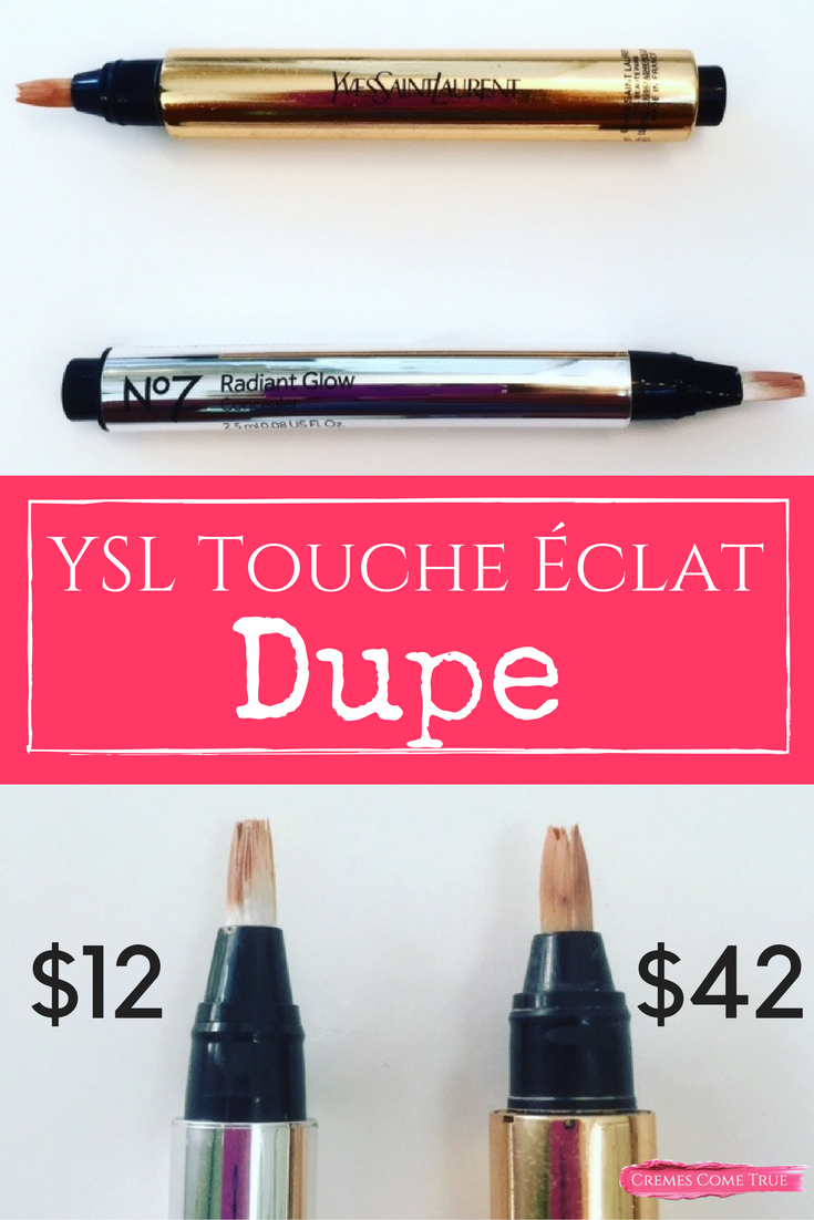 Drugstore Dupe for YSL Touche Eclat Randiant Touch
