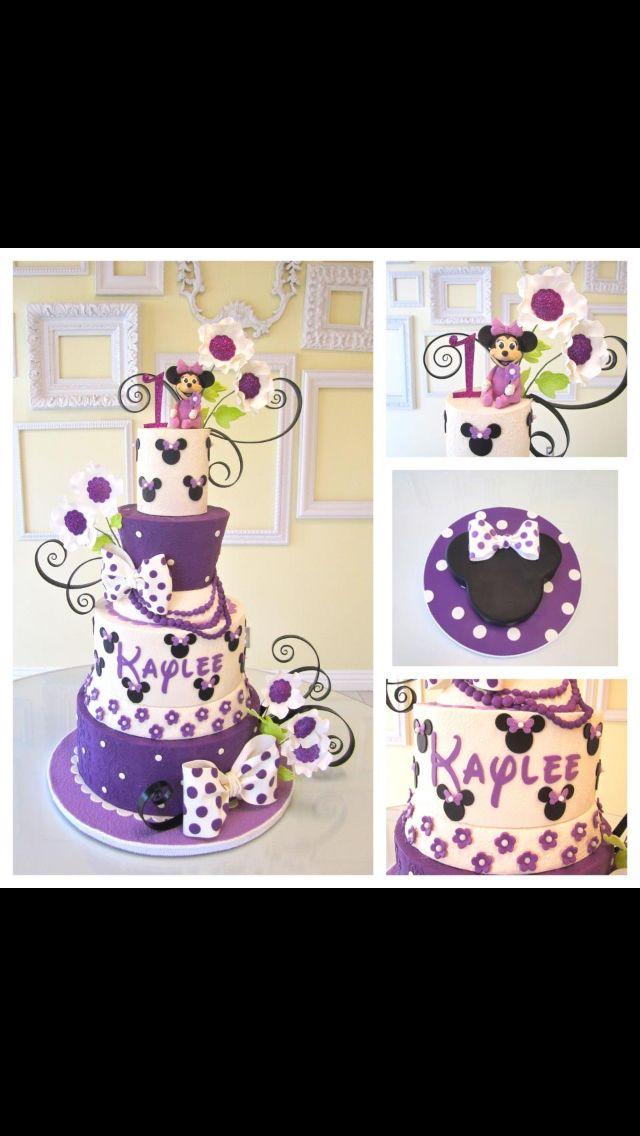 Cute Minnie Mouse cake!