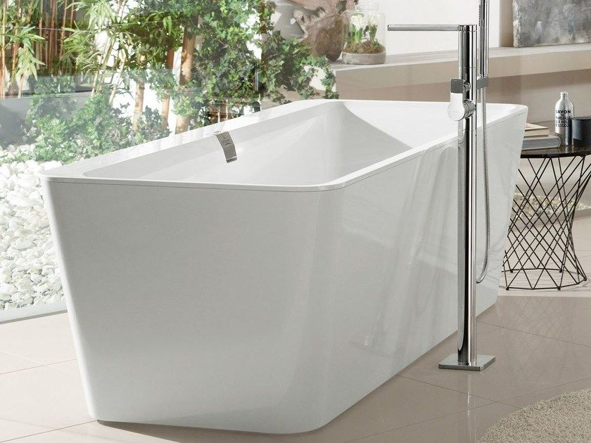 Download The Catalogue And Request Prices Of Squaro Edge 12 Bathtub By Villeroy Boch Quaryl Bathtub Squaro Collec Bathtub Villeroy Boch Bathtub Design