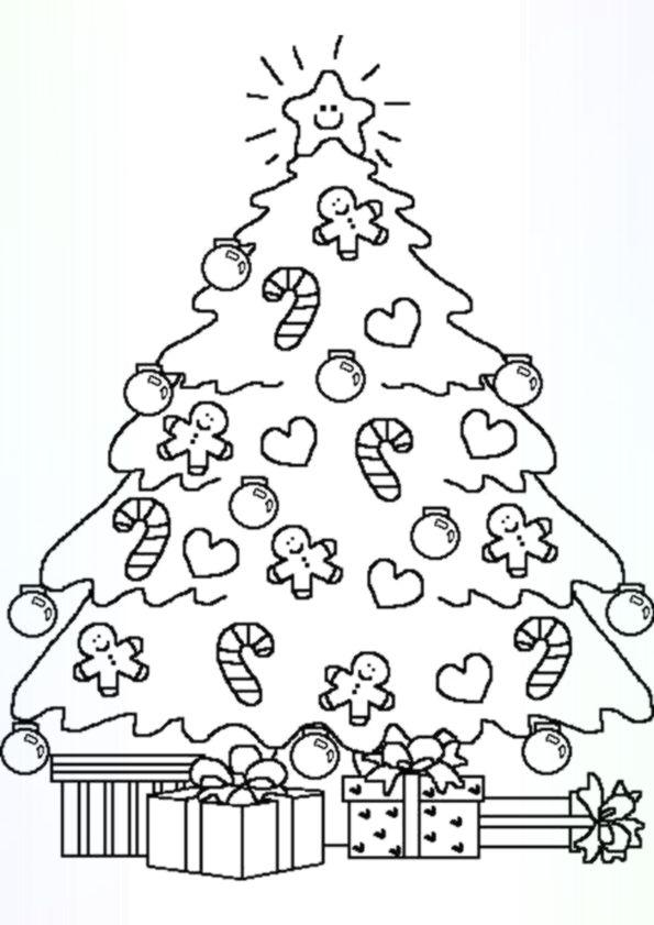 Grossartige Weihnachtsbaume Zum Ausmalen Christmas Tree Coloring Page Tree Coloring Page Free Christmas Coloring Pages