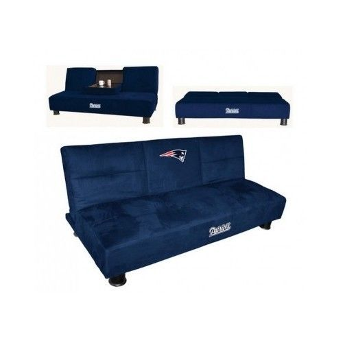 convertible sofa couch furniture futon nfl football team super bowl man cave  nfl convertible sofa couch furniture futon nfl football team super      rh   pinterest