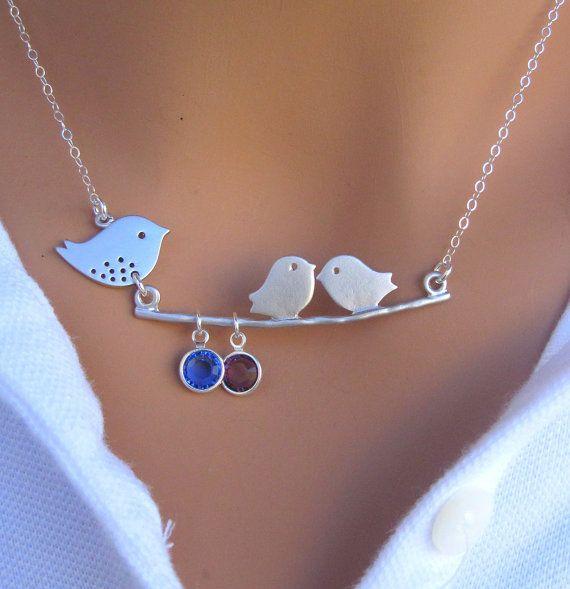 Mommy & Baby birds - I love it!
