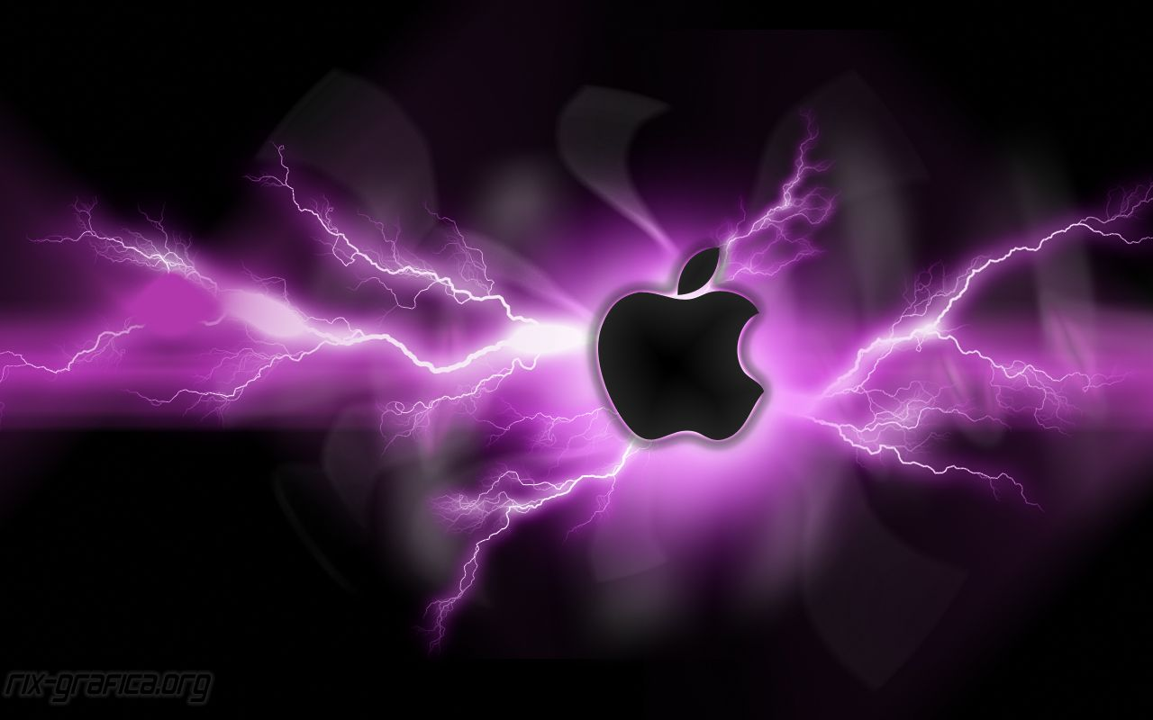 amazing apple logo wallpaper - bing images | apple, lightning & fire