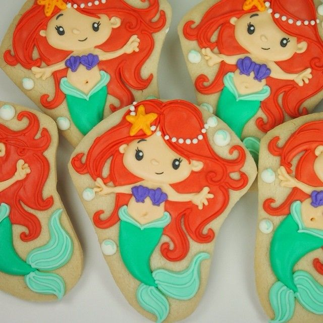 Little Ariel Cookies