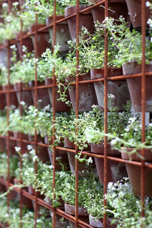joostwall | Vertical garden diy, Herb wall, Herb garden