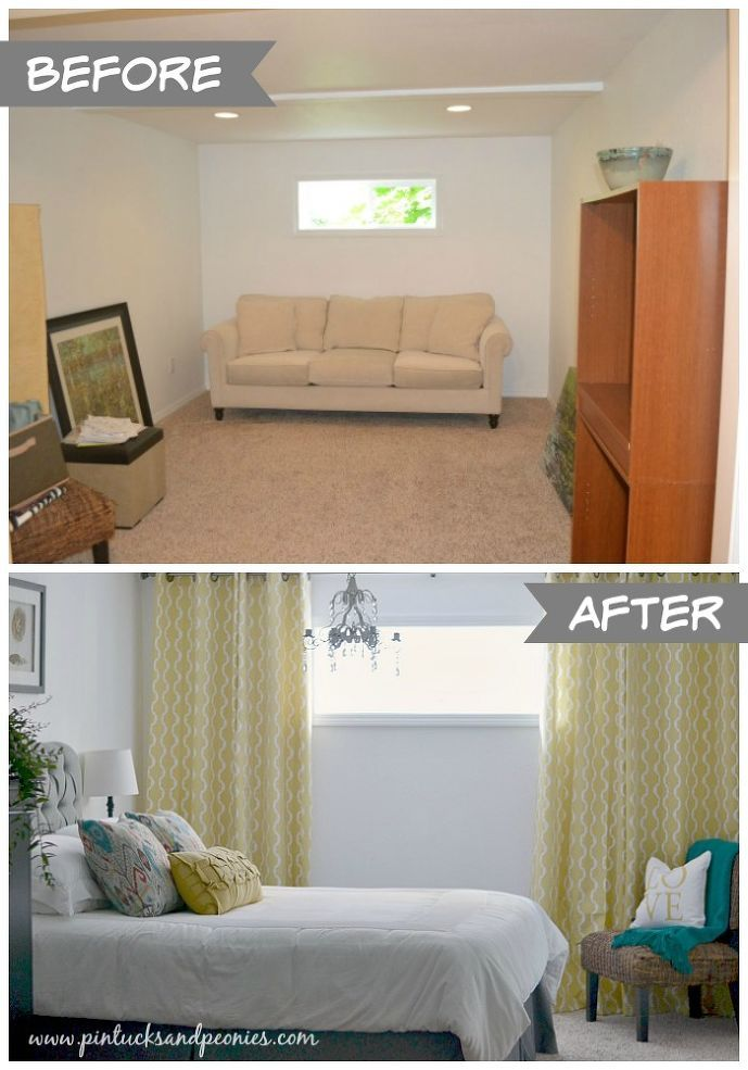 Superior Basement Window Treatment Ideas Part - 4: Super Simple Tips For Decorating A Room From Scratch! :: Hometalk