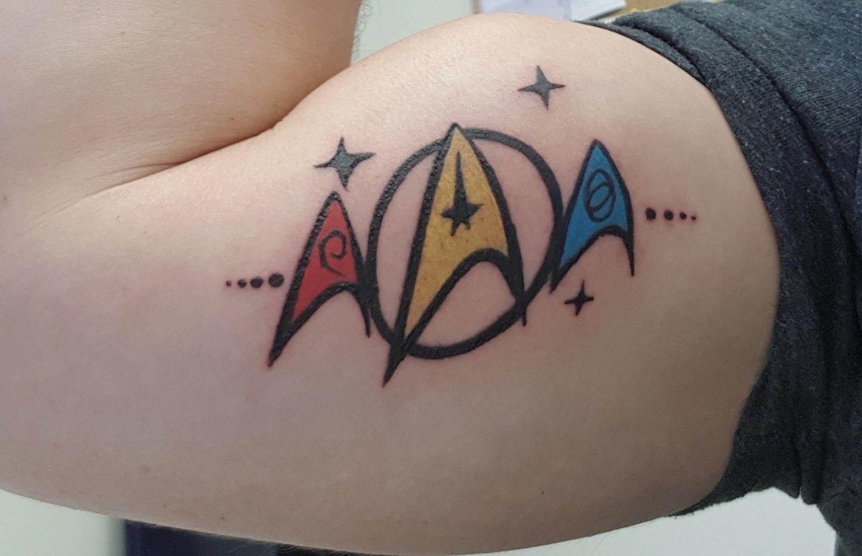 Star Trek Star Trek Tattoo Tattoos Cool Tattoos