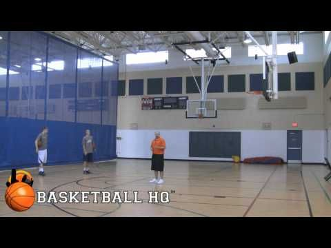 Teaching The Euro Step Finish Pro Advanced Basketball Guard