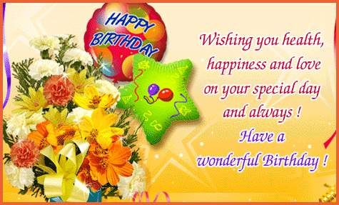 Image result for glitter birthday wishes cards
