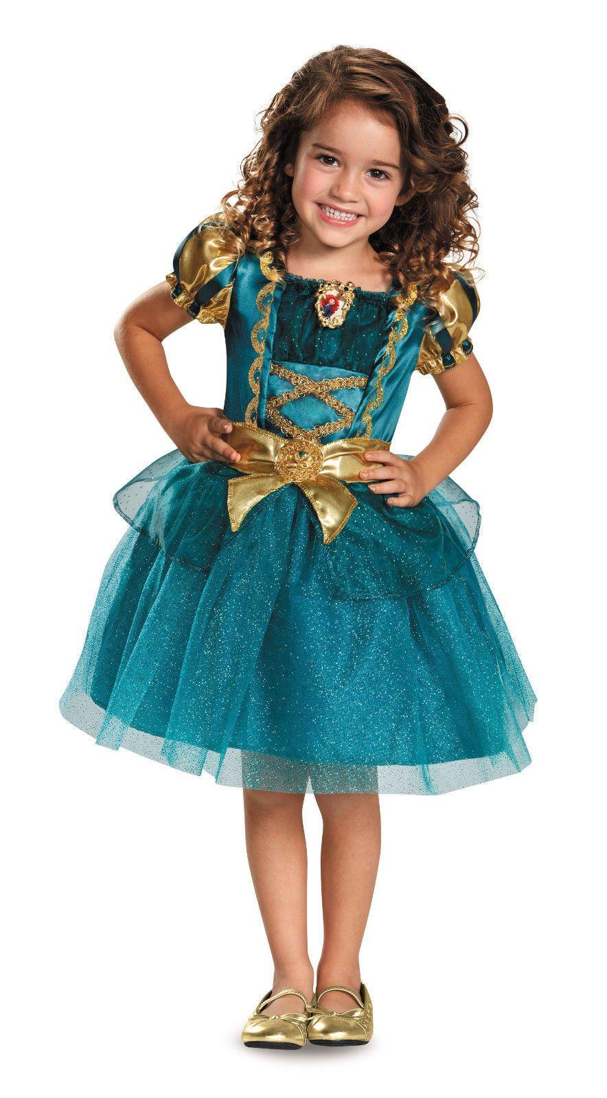Brand New Disney Princess Merida Brave Toddler Slippers