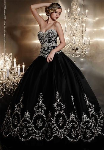 David S Bridal Style Swg784 Black Wedding Gowns Ball Dresses