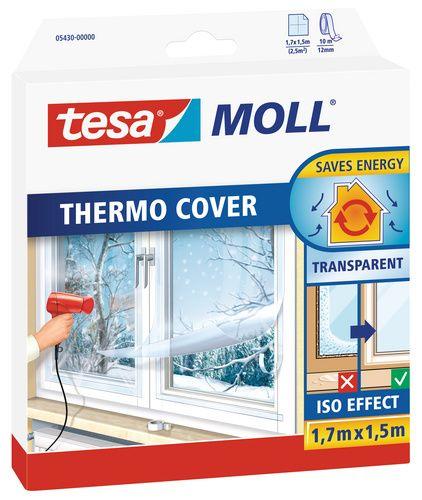 Tesamoll Thermo Cover Película Aislante Para Ventanas Con Cinta De Doble Cara Incluida En El Envase Aislar Ventanas Del Frio Pelicula Para Ventanas Ventanas