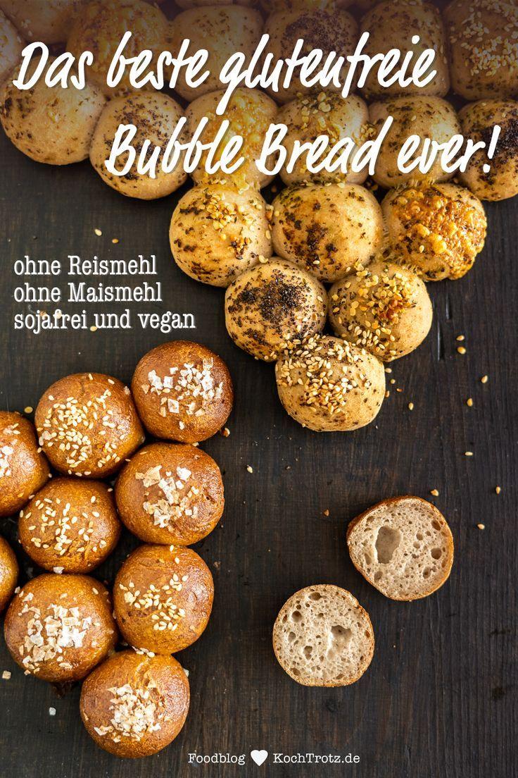 Partybrot | Bubble Bread | glutenfrei und vegan - KochTrotz | kreative Rezepte