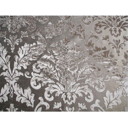 Grey damask burnout velvet on fancy fabric by fabricmart on etsy 10 90