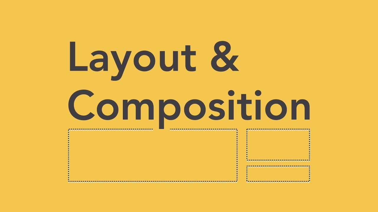 Beginning Graphic Design Layout Composition