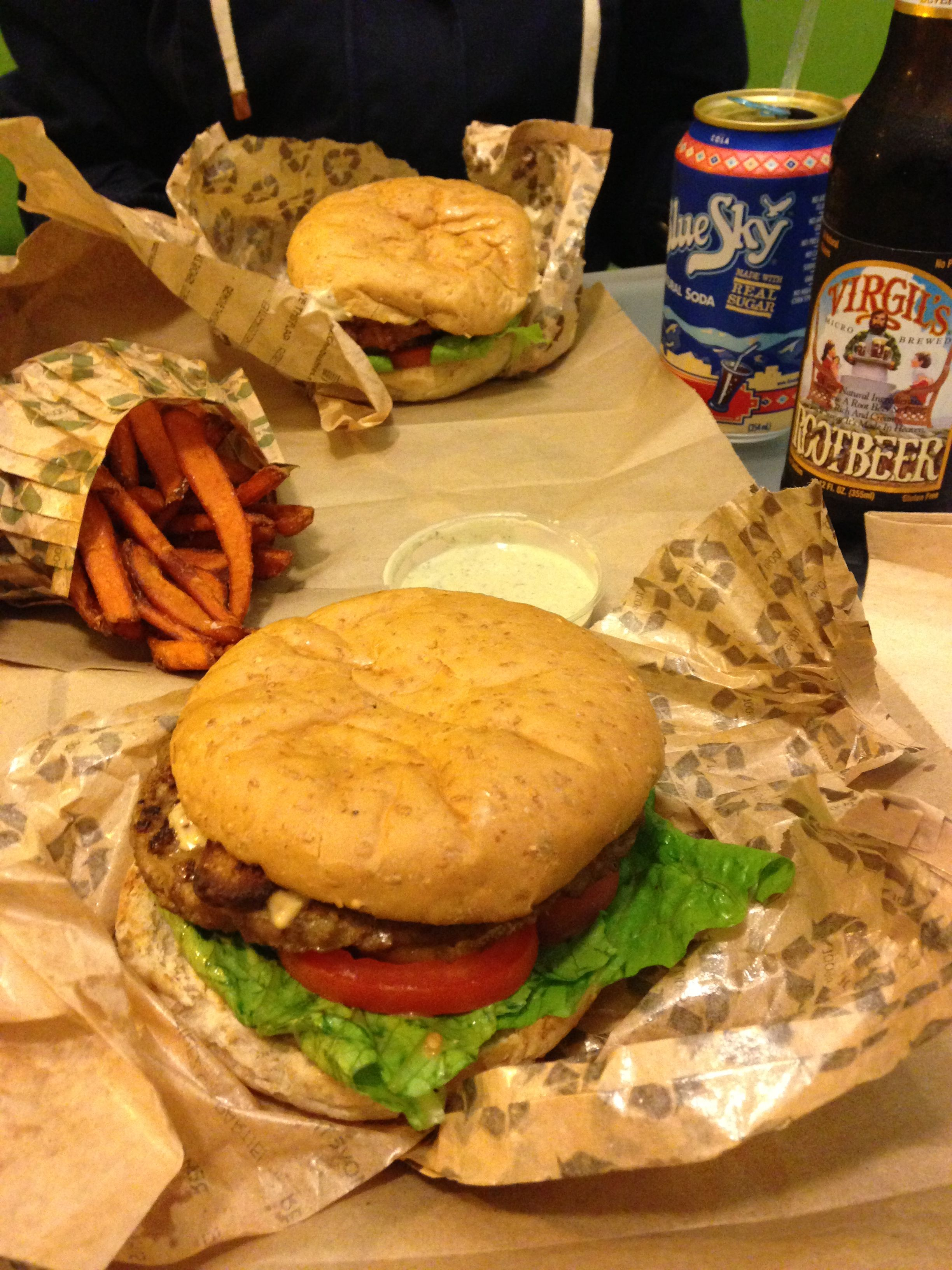 Hip city ranch burgers