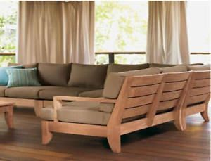 Outdoor Wood Sectional Furniture Plans Projects To Try Pinterest