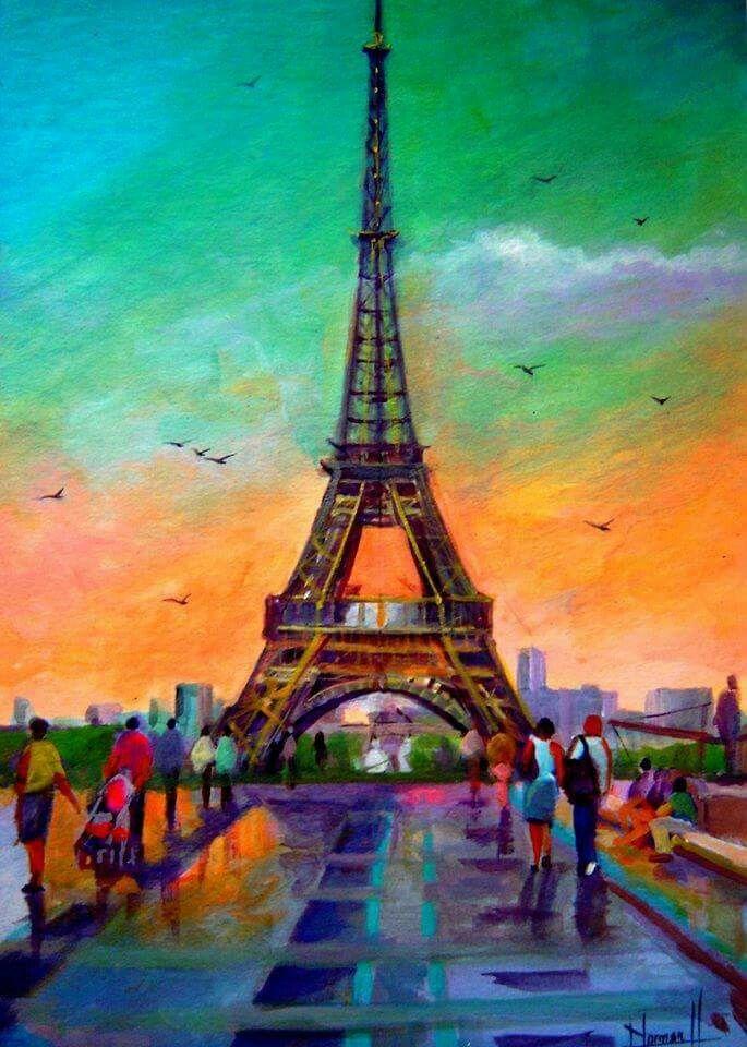 Paris, Je t' aime!!! By Howard Hernandez